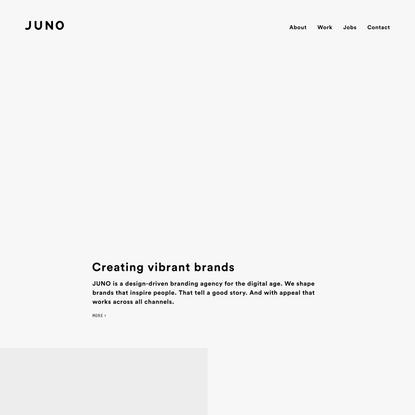 JUNO Branding and Design Agency Hamburg