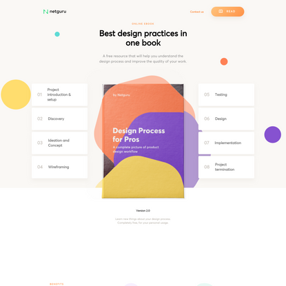 Design Process for Pros - Best design practices in one place