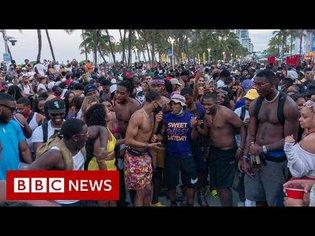 Emergency curfew in Miami Beach over spring break Covid risk - BBC News