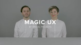 ✨Magic UX by Special Projects