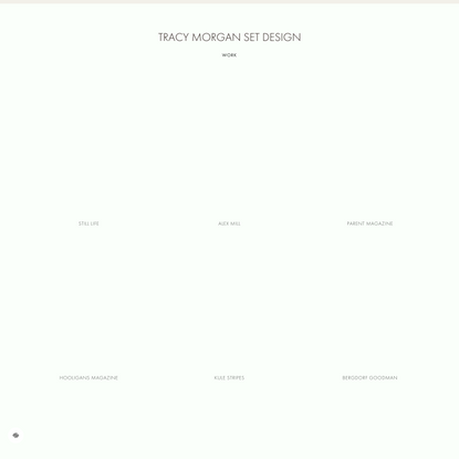 Tracy Morgan Set Design