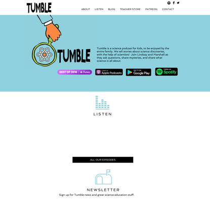 Podcast | Tumble | Science Podcast for Kids