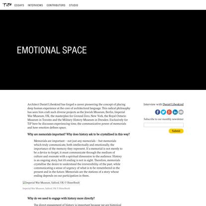 Emotional Space | Balmond Studio