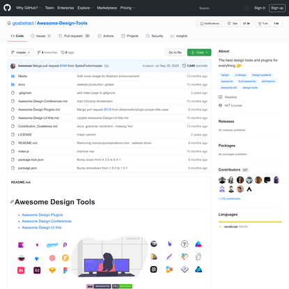 goabstract/Awesome-Design-Tools