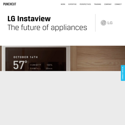 LG Augmented Reality Appliance | Punchcut