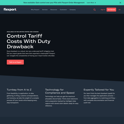 Control Tariff Costs With Duty Drawback