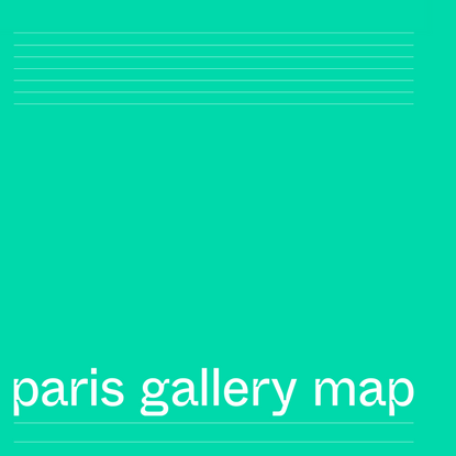 pgmap – paris gallery map