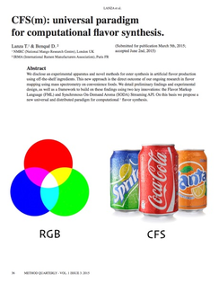 CFS(m): universal paradigm for computational flavor synthesis.