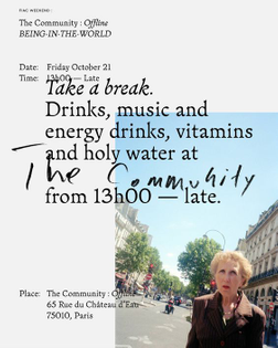 the community poster