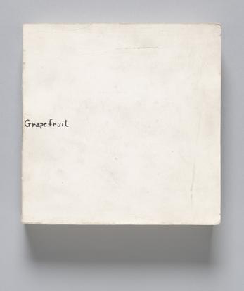 Yoko Ono. Grapefruit. 1964   MoMA