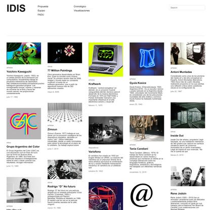 IDIS | investigaciones sobre el Diseño de Imagen y Sonido