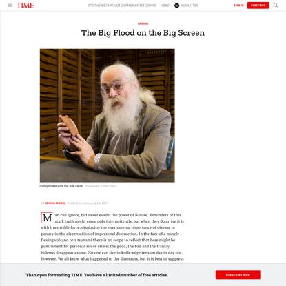 The Big Flood on the Big Screen