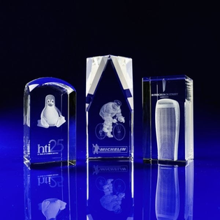 Laser Crystal - Custom Awards and Trophies