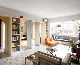 A Home for Readers in Milan (designed by ATOMAA, 2019)