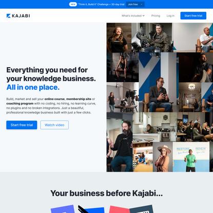 Kajabi: Easily Create & Sell Online Courses & Coaching
