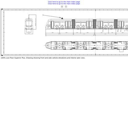 100% Low Floor Superior Plus Tram design by Inekon.