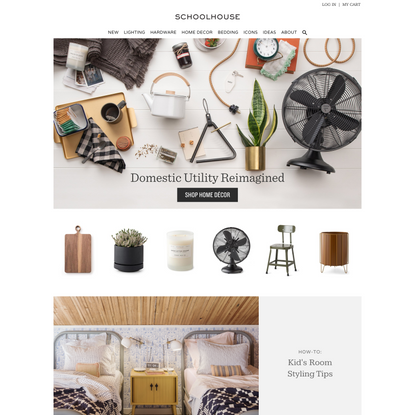 Classic Lighting & Period Inspired Home Goods