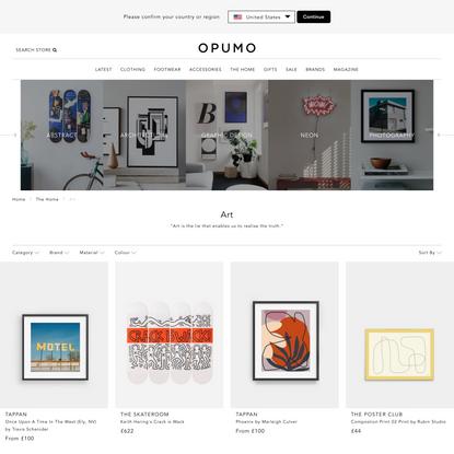 Art | OPUMO