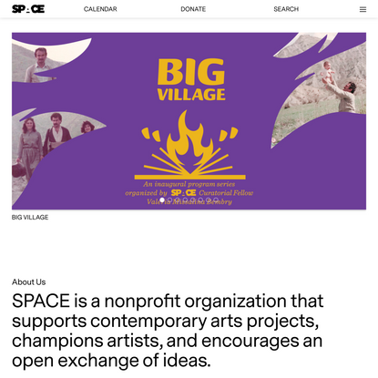 SPACE – Arts, Artists, & Ideas in Portland, Maine