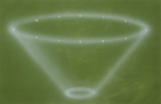 Ed Ruscha - The Funneling of You-Know-What (1985)