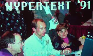 Tim Berners Lee at Hypertext '91