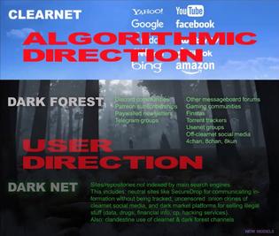 Internet Layers via New Models (Caroline Busta + Lil Internet)