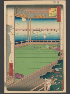 100 Views of Edo - Hiroshige