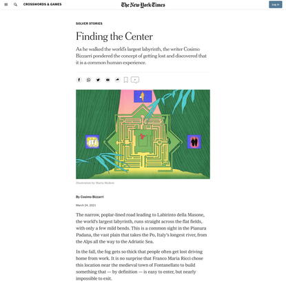 Finding the Center - The New York Times