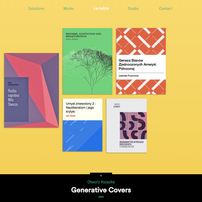 Generative Covers