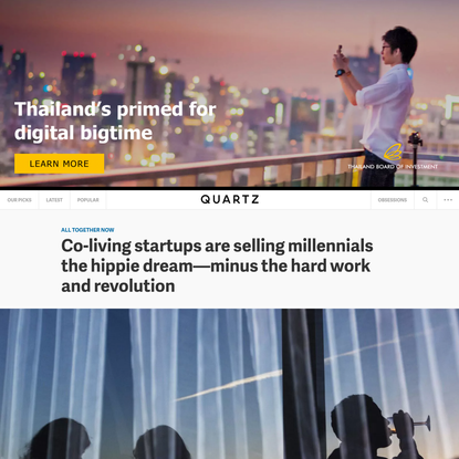 Co-living startups are selling millennials the hippie dream-minus the hard work and revolution