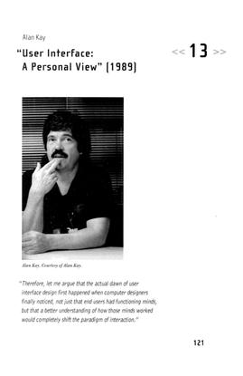 """User Interface: A Personal View,"" Alan Kay, 1989"