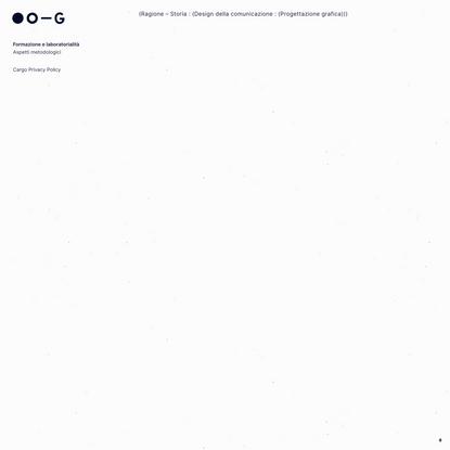 Robert Rebotti – garadinervi: Design della comunicazione e Progettazione grafica