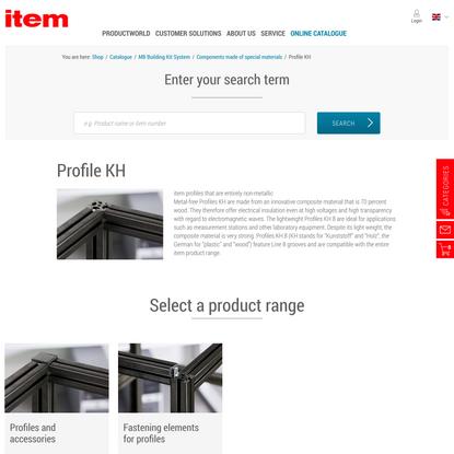 Catalogue | item Industrietechnik GmbH