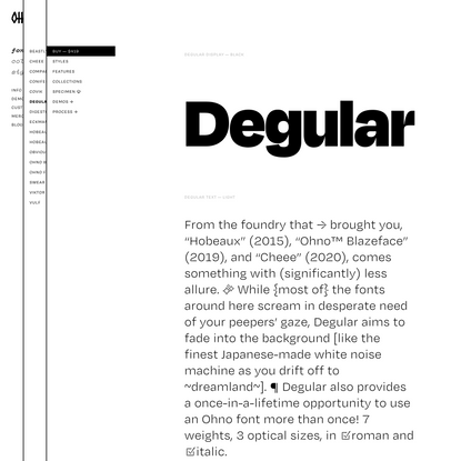 Degular   OH no Type Company