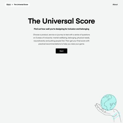 The Universal Score