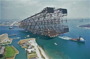 Bullwinkle oil platform