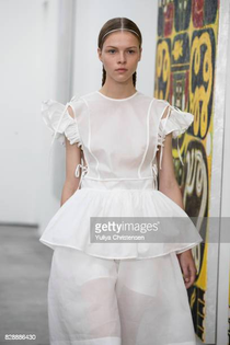 model-on-the-runway-for-designer-cecilie-bahnsen-during-the-fashion-picture-id828886430?s=612x612