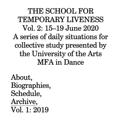 The School for Temporary Liveness
