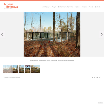 Binocular House - Bilyana Dimitrova Photography- NYC/LA Architectural Photographer