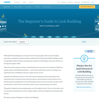 What Is Link Building In SEO? The Beginners Guide to Link Building - Moz