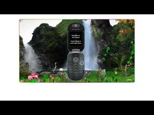 Motorola PEBL flash website in 2006