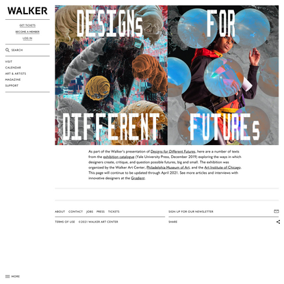 Designs For Different Futures