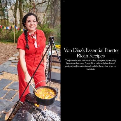 Von Diaz's Essential Puerto Rican Recipes
