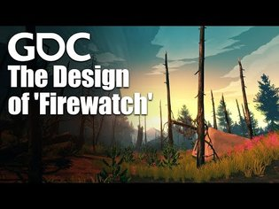 Interactive Story Without Challenge Mechanics: The Design of Firewatch