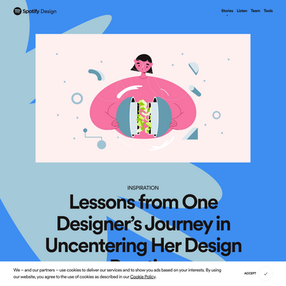 Lessons from One Designer's Journey in Uncentering Her Design Practice