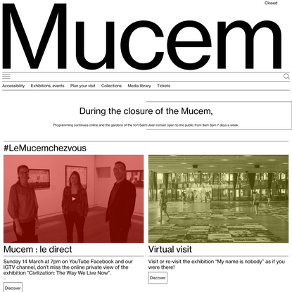 Mucem — Musée des civilisations de l'Europe et de la Méditerranée