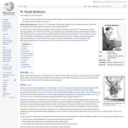 W. Heath Robinson - Wikipedia