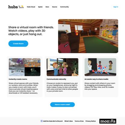 Hubs by Mozilla