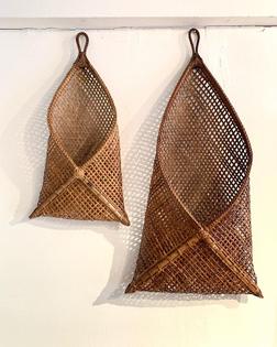 sopmeiartsbkk wall hanging basket