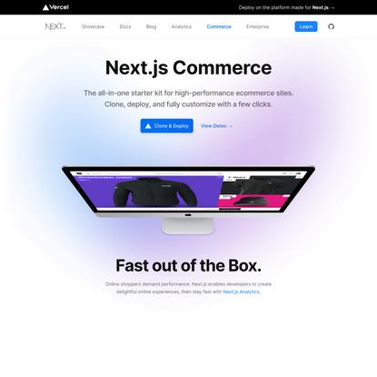 Next.js Commerce